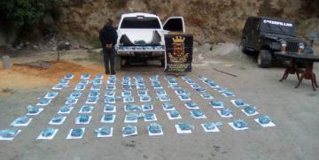 Duro golpe al Narcotráfico GNB incauta 84 panelas de presunta droga denominada (Cripy)