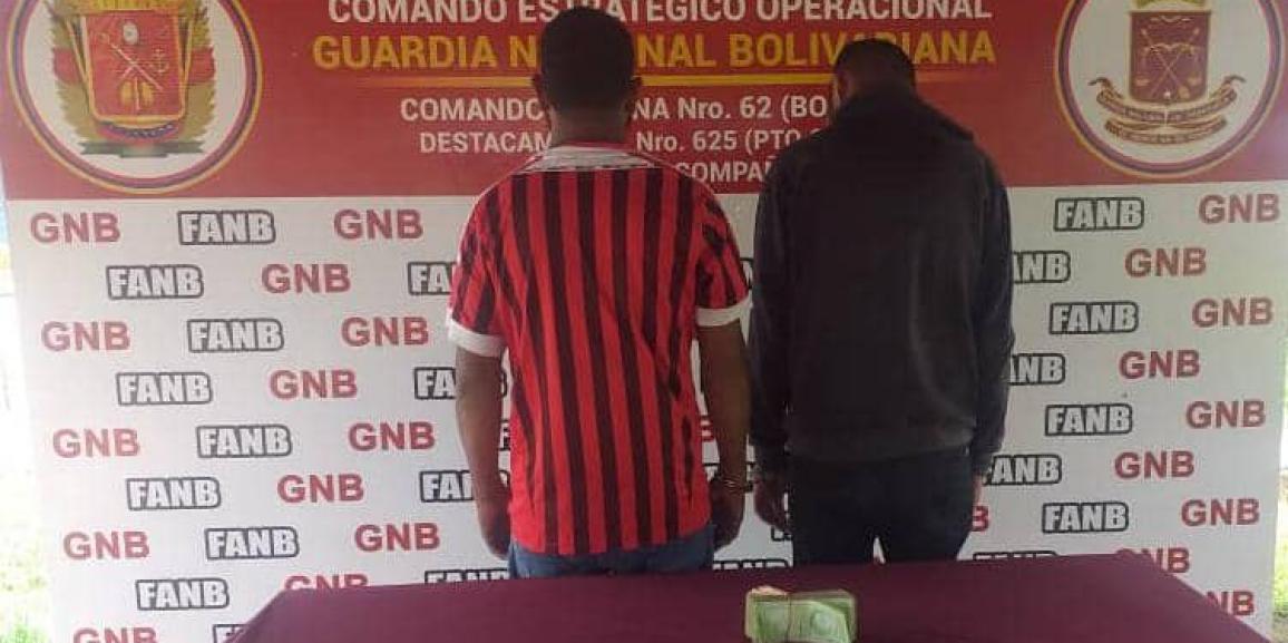 """GNB aprehendió a integrantes de la banda """"Los Colectores"""" en San Félix"""