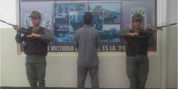 GNB Cojedes detuvo a ciudadano con  45 solicitudes judiciales pendientes