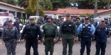 300 Funcionarios participan en el Despliegue de Seguridad Especial en el estado Táchira
