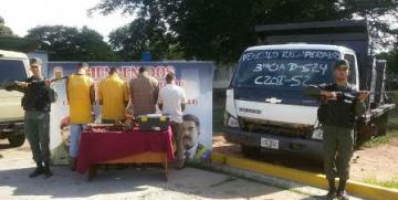 GNB desmantela banda de extorsionadores en zona sur de Anzoátegui
