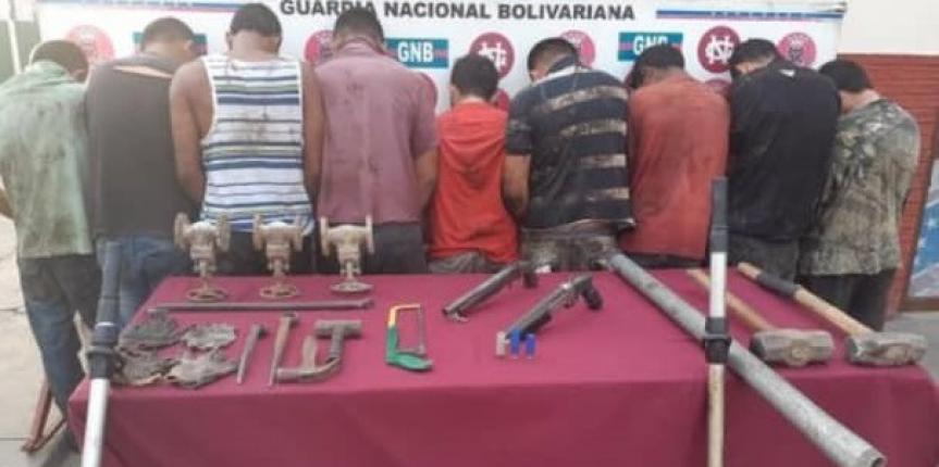 """La GNB en el Zulia resalta como lo más destacado para esta semana resultados en Operación """"Torniquete"""" y retención de 152 envases  de ácido sulfúrico"""