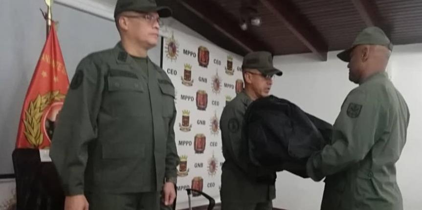 GNB reconoce al personal de músicos militares en su día