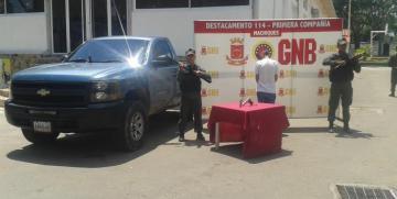 GNB sub-región Perijá detuvo a tres ciudadanos por varios delitos en el marco del Plan Patria Segura