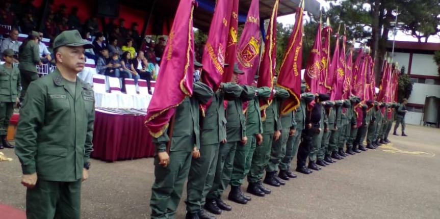 Realizada transmisión de mando de los Destacamentos de la GNB en la Redi Los Andes