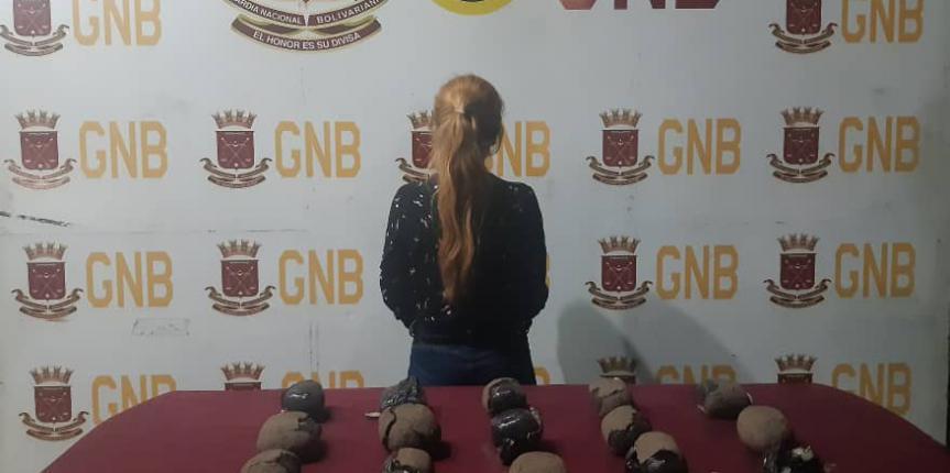 Detenida ciudadana con más de 6 kilos de presunta marihuana por la GNB Táchira