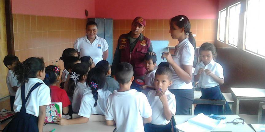 """Regimiento Guardia del Pueblo Portuguesa continua con el dispositivo """"El Guardia va a la Escuela"""""""