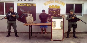 GNB captura a cuatro ciudadanos por el delito de robo en el estado Monagas