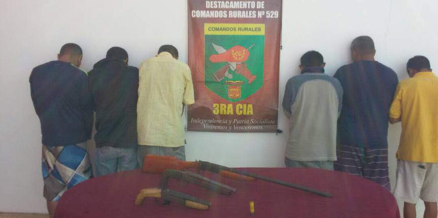 GNB desmanteló banda delictiva en zona rural de Barcelona