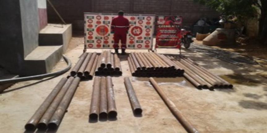 GNB Zulia detuvo a ciudadano y retuvo 116 tubos de perforación petrolera