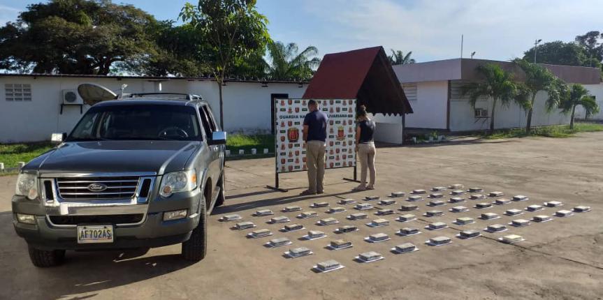 Más de 100 kilos de marihuana incautó el GNB en Táchira