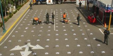GNB incauto 200 envoltorios de Cocaína en el estado Zulia