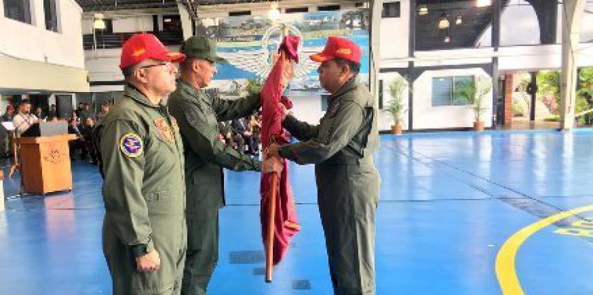 Comando Aéreo de la Guardia Nacional Bolivariana cuenta con nuevo comandante