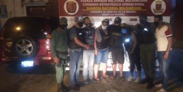 Rescatados tres ciudadanos secuestrados y un vehículo recuperado en La Guaira