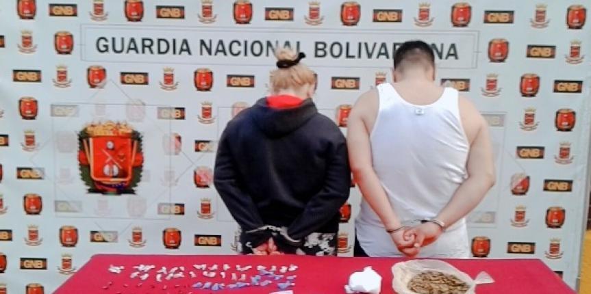 GNB Mérida desmantelo centro de distribución de drogas 'Los Gorilas' en Campo de Oro
