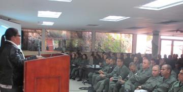 Defensoría Pública Militar realiza charlas sobre los Derechos Humanos en la GNB Capital