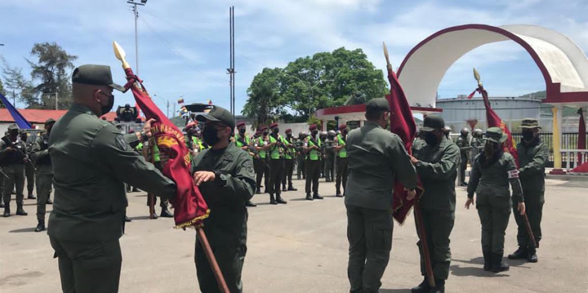 UNIDADES TÁCTICAS DE LA GNB CUENTAN CON NUEVOS COMANDANTES EN LA REGIÓN ESTRATEGIA DE DEFENSA INTEGRAL ORIENTAL