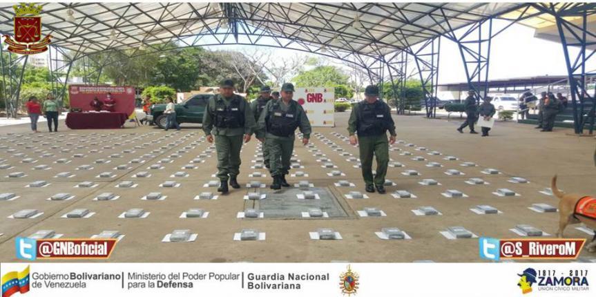 GNB incautó 440 kilos de cocaína en la carretera Machiques-Colón