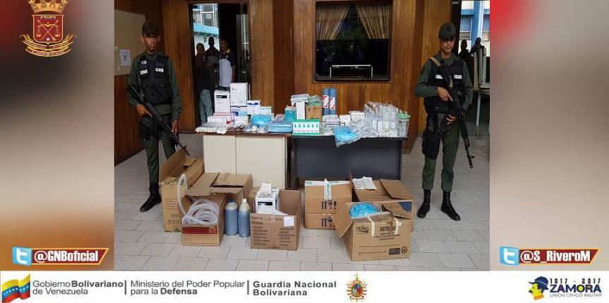 GNB dio duro golpe a mafias de medicamentos en Guárico