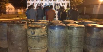 GNB apresó a 14 ciudadanos por extracción ilegal de combustible en el estado Bolívar