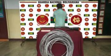 GNB Barinas capturó a un ciudadano por poseer  material estratégico y por porte ilícito de arma de fuego