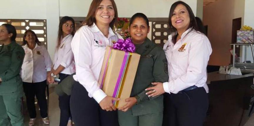 Comité de Acción Social del Comando de Zona del estado Zulia  celebró el Día de las Madres