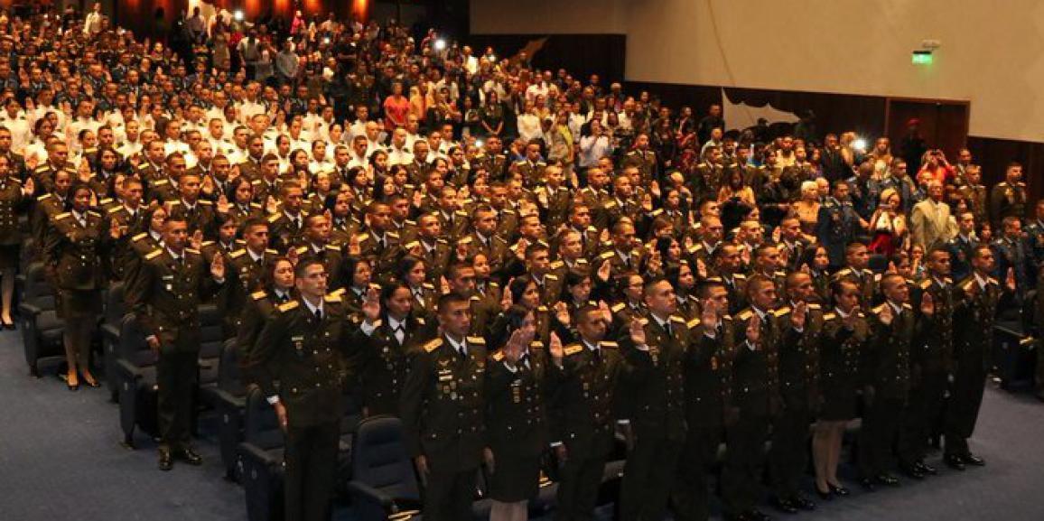 315 Oficiales Asimilados ingresan a las filas de la FANB