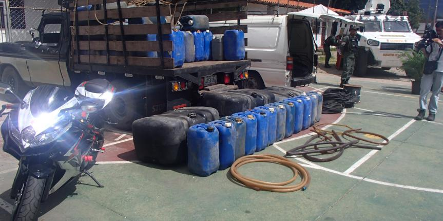 77 detenidos en Plan Navidades Seguras en el estado Táchira