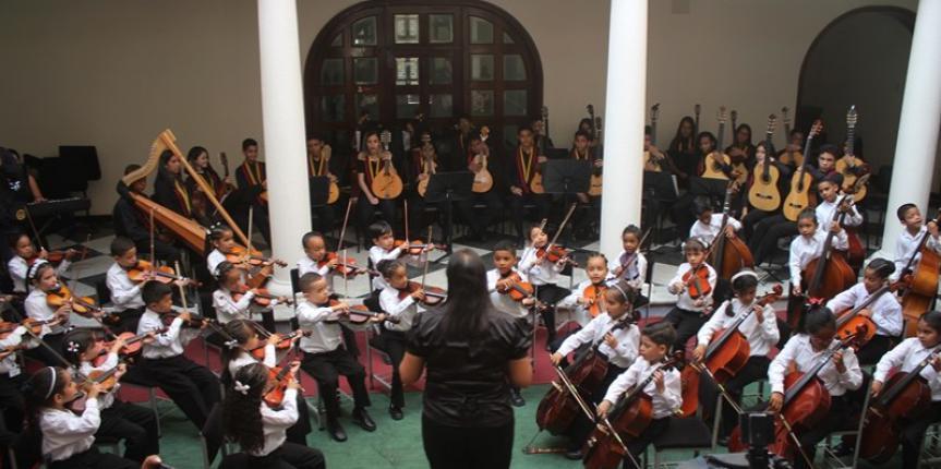 Núcleo 443 del Sistema de Orquestas Juveniles de Venezuela abre sus puertas en la Guardia Nacional Bolivariana