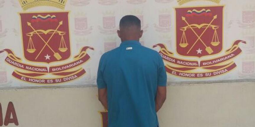 Capturado ciudadano por agresión física contra su pareja en el estado Guárico