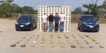 Incautados más de 51 kilos de marihuana en Punto de Atención al Ciudadano de la GNB en Anzoátegui