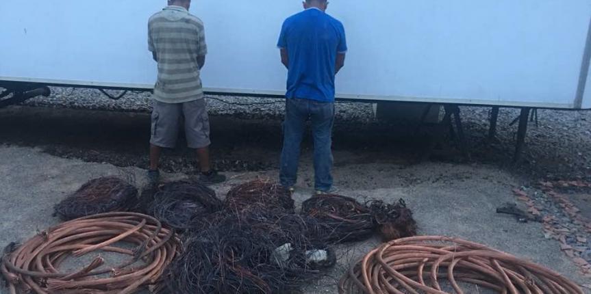 Detenidos dos sujetos por tráfico de más de 800 kilogramos de material estratégico