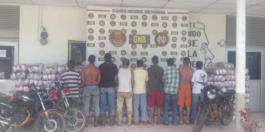 """Desmantelada banda delictiva """"Los Aragueños"""" dedicada al saqueo en Anaco"""