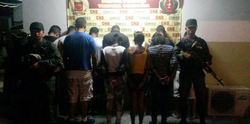 160 personas detenidas y 27 armas fueron incautadas en Caracas durante el fin de semana