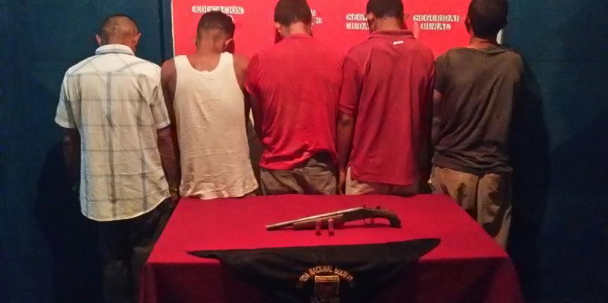 GNB Monagas captura a cinco ciudadanos por abigeato y  presunta violación