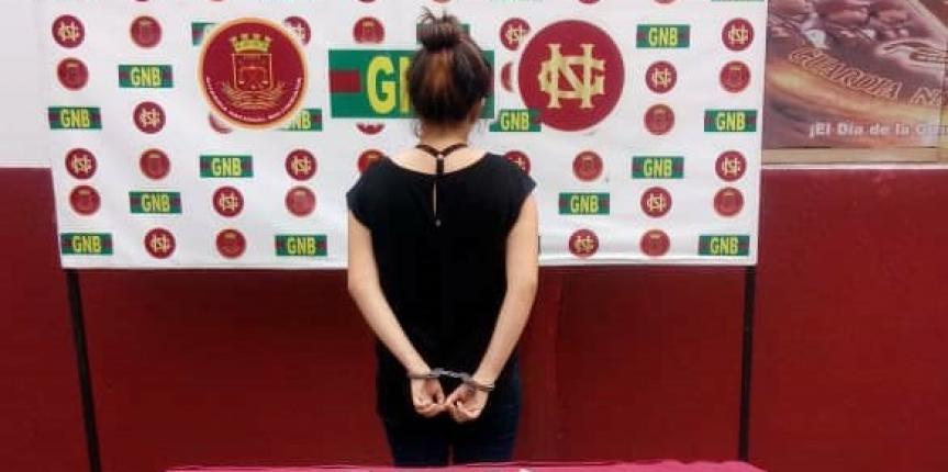 Detenida menor de edad  por microtráfico de droga en Táchira