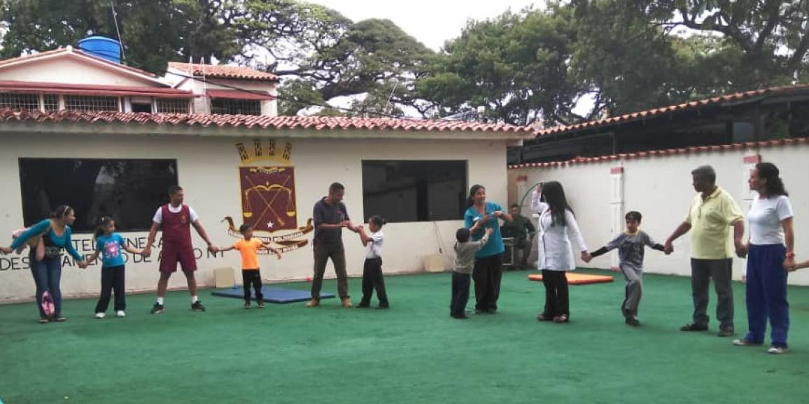 Centro de Atención Integral al Niño de la GNB realizó actividades Socio Integradora con propósito Terapéutico en el área Física y Recreativa
