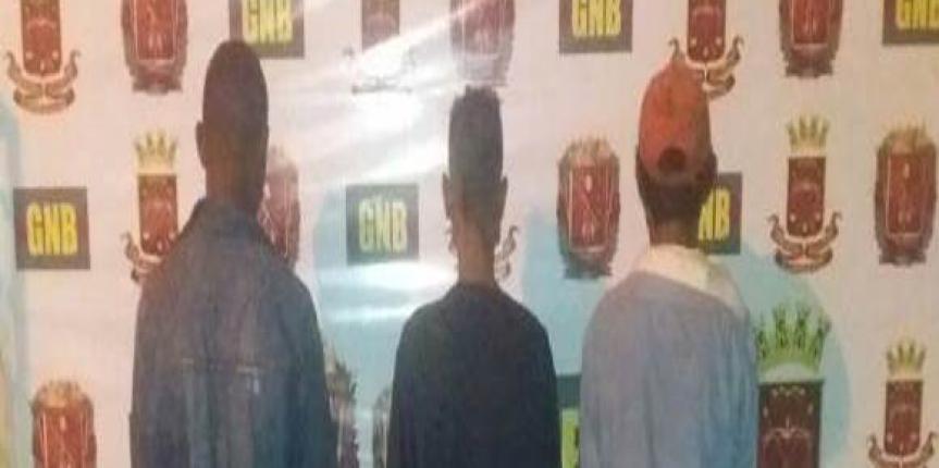 GNB detuvo a cuatro ciudadanos con carne de dudosa procedencia