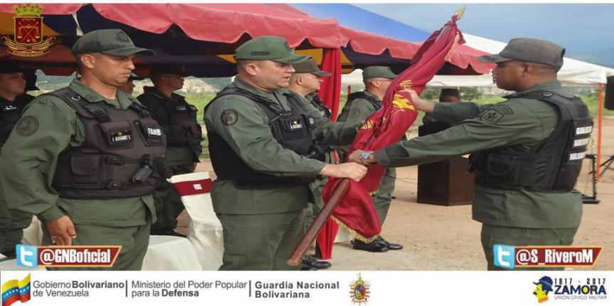 Transmisión de mando del Destacamento de Seguridad Urbana Trujillo