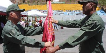 Comando de Zona N°43 de la GNB cuenta con nuevo comandante