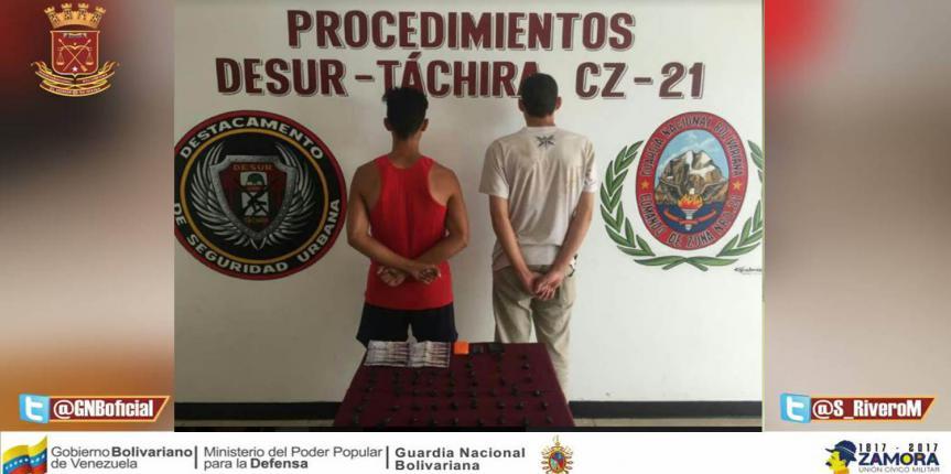 Capturado ciudadano al intentar salir del país con 3 armas