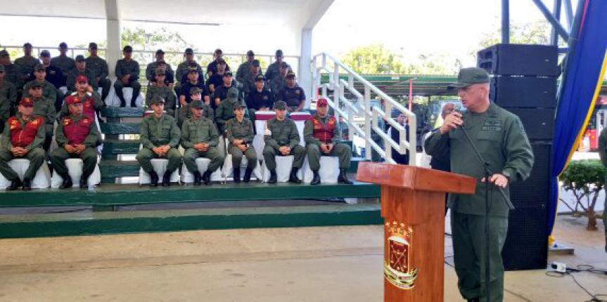 Instalación de la Inspectoría General en el Comando de Zona 11 Zulia