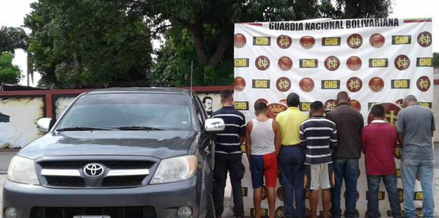 """GNB desmanteló banda """"Los Polleros"""" en el estado Bolívar"""