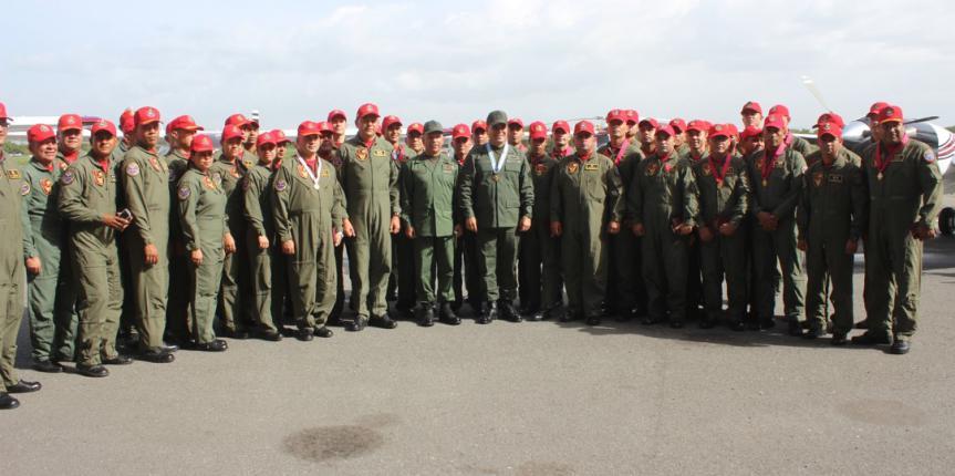 Comando aéreo de la GNB reincorpora cuatro nuevas aeronaves