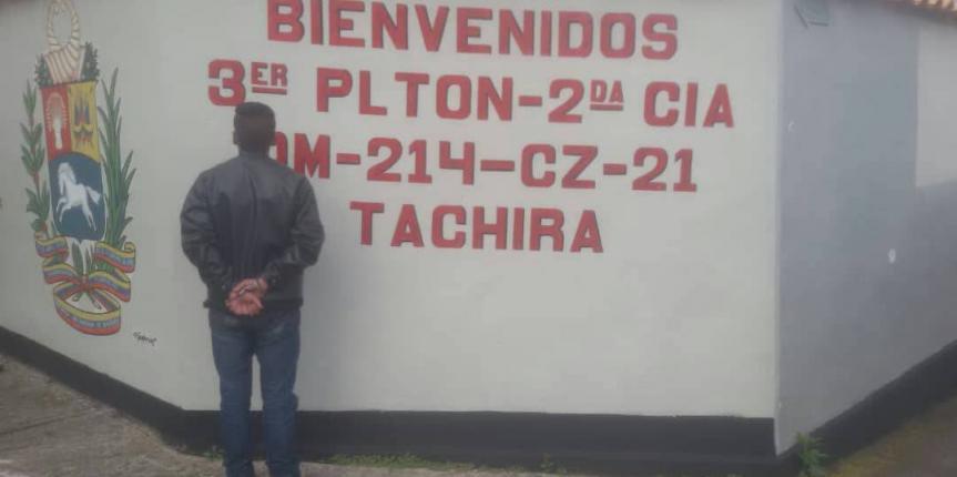 GNB Táchira capturó a presunto violador en el municipio Sucre