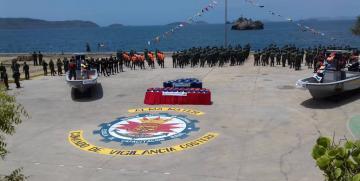 Comando de vigilancia costera de la GNB reinaugura aulas académicas de la escuela de capacitación naval