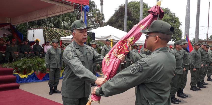 Unidades Tácticas de la GNB en la Región Oriental cuentan con nuevos Comandantes