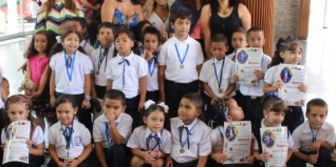 """MAS DE 30 NIÑOS Y NIÑAS FUERON PROMOVIDOS AL PRIMER GRADO DE EDUCACION INICIAL DEL C.E.I.N.B """"LINA DE CARDENAS"""" EN CARICUAO"""