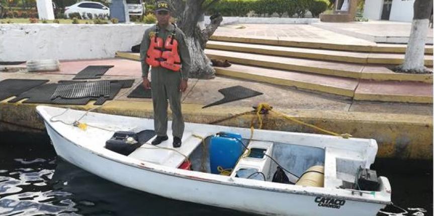 """Comando de Vigilancia Costera captura integrante de banda """"Los Corronchos"""" dedicada al robo de motores fuera de borda en Anzoátegui"""