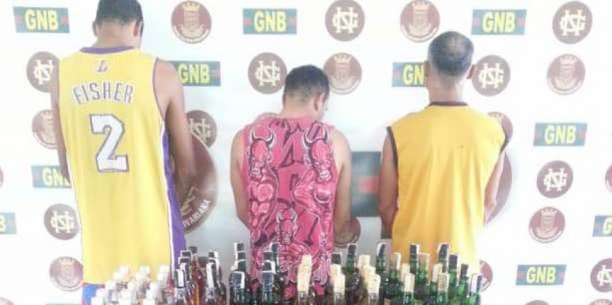 GNB en Anaco desmantela banda dedica al hurto de establecimientos comerciales